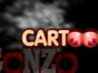 Lara Croft and Kim Possible at brand new cartoon porn movie