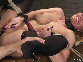 Four different Mother I´d Like To Fuck getting slave training