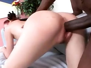 Hardcore Interracial Riding Leaves Redhead Slut Sore