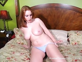 After she masturbates with fingers she is ready for good fuck