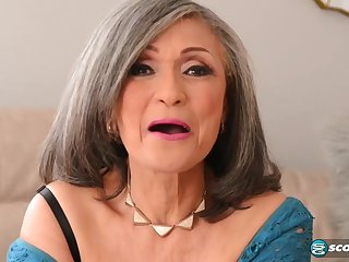 Kokie Del Coco - old grandma pounded by muscled stud with big cock j-mac