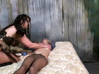 Lesbian spanking bondage and bdsm