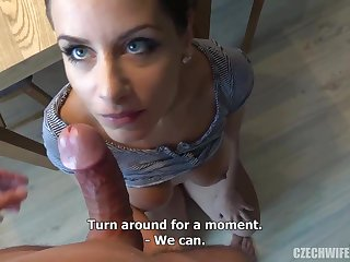 Czech femmes were deepthroating sausages in front of the camera, because many of them needed cash