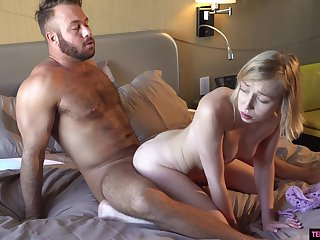 Sexy facesitting with Athena May before her pink taco takes it hard