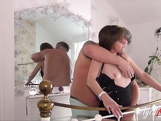 Happily married bitch loves having sex with her horny husband