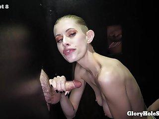 Kyaa Chimera - First Glory Hole Porn Video