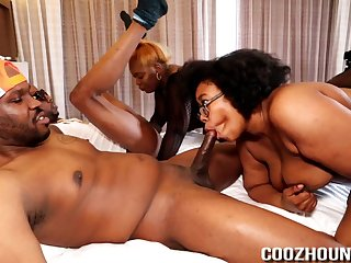 Booty black sluts group sex party