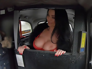 French MILF in Red Lingerie
