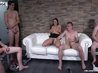 Amateur fuck fest with handsome Czech pornstar Mea Melone. HD