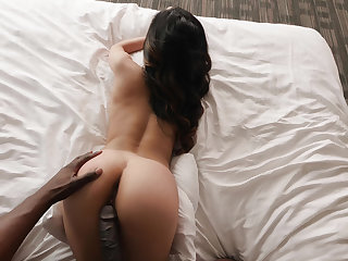 Latina is lusty for a BBC
