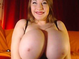 Fat Sexy Amateur Masturbates On Big Boobs