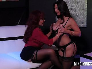Astonishing dolls, Mindi Mink and Vanessa are regularly making enjoy with each other, just for joy