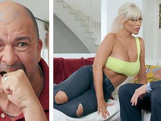The man wife fuck hard husband's boss