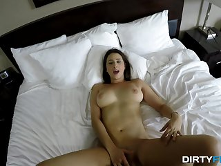 Dirty Flix - Ashley Adams - Fucking coed with big swingers