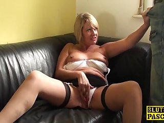Big-Breasted British GILF Fuckfingering Their Self - Xozilla Porn