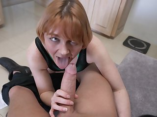 Marie McCray adores all sex games with her horny friend on the bed