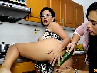 Kinky and nasty lesbians like to play all dirty lesbian sex games