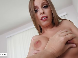 Britney Amber - Raunchy MILF Demands Step Son To Copulate