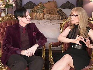 Nina Hartley wants to share her dirty ideas with her kinky lover