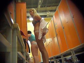 Pantyhose Voyeur Undressing